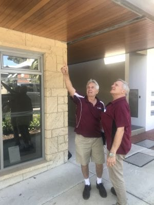 Strata Inspections Perth, Two Senior Inspectors discuss Strata Maintenance issue, Sinking Funds, Strata Maintenance Schedule